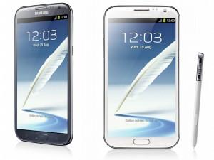 Le Galaxy Note 2 en promotion chez SFR pour sa sortie dans leur boutique