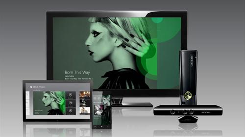 Microsoft dévoile son nouveau service de musique : Xbox Music !