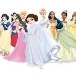 princesse leïa et toute la bande disney
