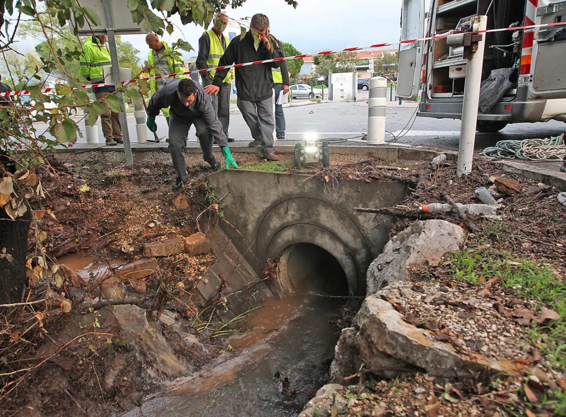 Deux étudiants emportés dans les canalisation durant l'innondation du campus de Toulon