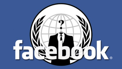 Facebook : piraté par Anonymous ?