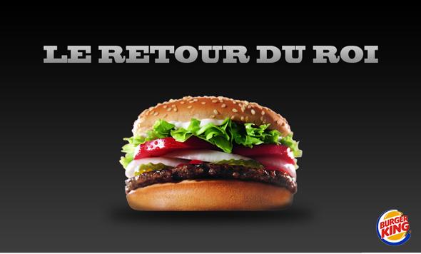 La firme italienne Burger King annonce son retour prochain en France !