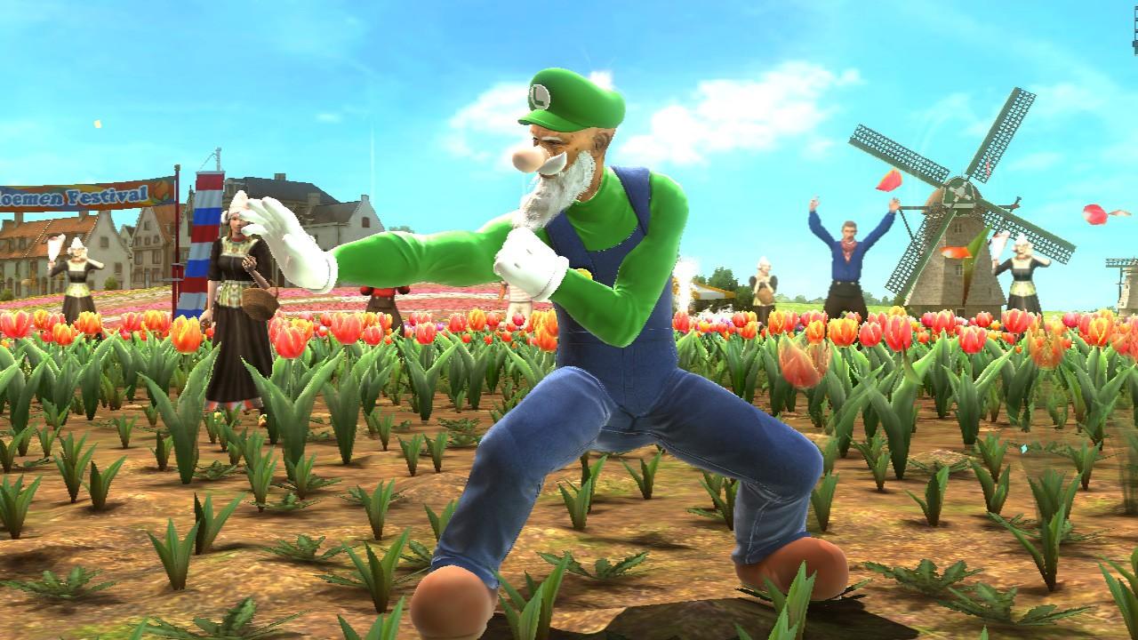 Luigi dans Tekken Tag Tournament 2 Wii U