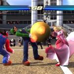 Mario Luigi et Peach dans Tekken Tag Tournament 2 Wii U