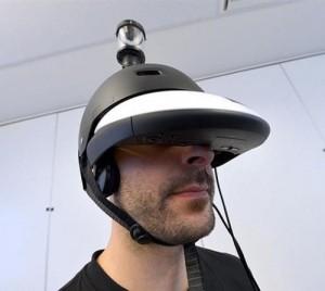 Des chercheurs français viennent de mettre au point un casque permettant de voir à 360 degrés !