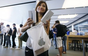 iPhone 5 arrive dans les Apple store officieux