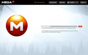 Mega : l'interface de chiffrement des données