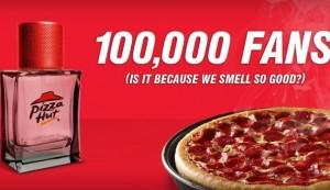 La franchise américaine Pizza Hut se lance dans le parfum.