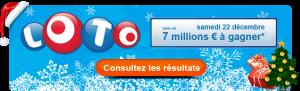 Un jackpot spécial du loto à Noël pour 7 millions d'euros !