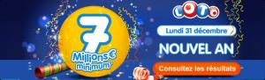 Loto : le résultat du tirage du 29 décembre disponible dès 20h40 !