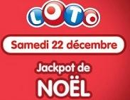 Pour Noël, la Française Des Jeux offre aux joueurs un tirage du loto spécial pour un montant de 7 millions d'euros !
