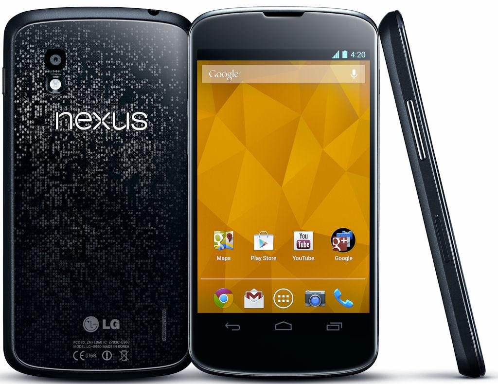 Nexus 4 : LG contre-attaque