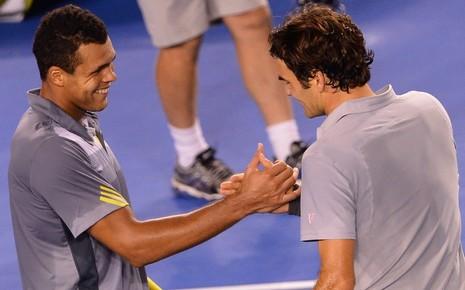 Alors que le tournois de l'Open d'Australie arrive à son terme, retour sur le match Tsonga - Federer en quart de finale. Un match au sommet du tennis !