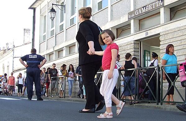 Des amendes pour parents en retard à l'école