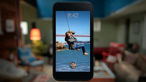 L'application Facebook Home est disponible sur certains smartphones.