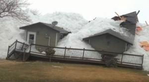 Un tsunami de glace frappe le Canada !