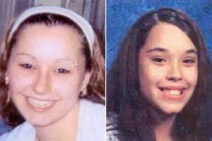 Amanda Berry (à gauche) et Gina DeJesus (à droite) et Michelle Knight, toutes 3 enlevées il y a une dizaine d'années.