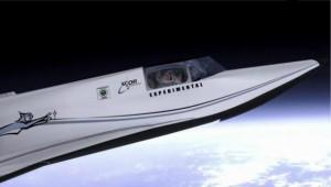 Navette pour le voyage spatial à gagner avec la Axe Apollo Space Academy