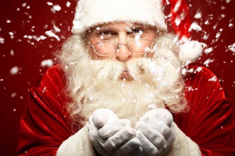 Une entreprise organise Noël
