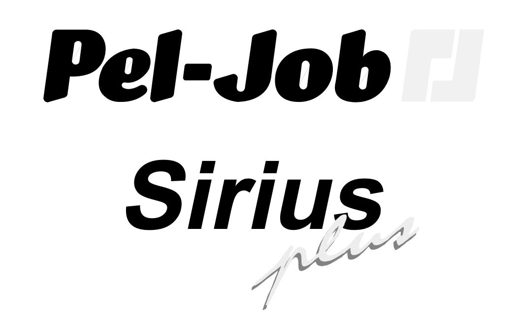Couverture du catalogue des pièces détachées Sirius Plus en français